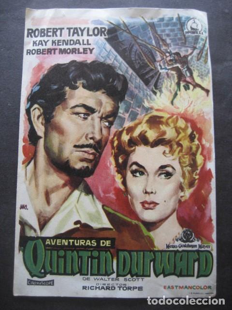 AVENTURAS DE QUINTIN DURWARD (Cine - Folletos de Mano - Aventura)