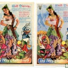 Cine: LOS TRES CABALLEROS.. Lote 126306683
