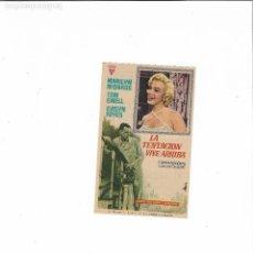Cine: LA TENTACION VIVE ARRIBA ( MARILYN MONROE - CINE NUEVO ). Lote 126379047