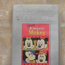 Cine: VENDO PELICULA VHS, LO MEJOR DE MIKEY (DISNEY).. Lote 126511071