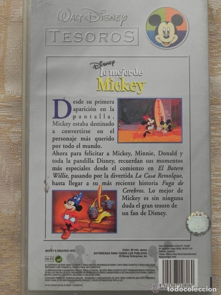 Cine: Vendo Pelicula VHS, Lo Mejor de Mikey (Disney). - Foto 2 - 126511071