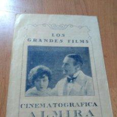 Cine: PROGRAMA TRIPTICO DE CINE -MALEFICIO. Lote 126673575