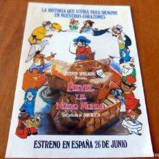 Cine: FIEVEL Y EL NUEVO MUNDO . Lote 126803695