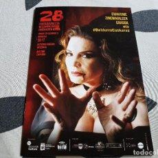 Cine: CATALOGO 28 SEMANA DE CINE FANTASTICO Y TERROR MARIA JOSE CANTUDO SAN SEBASTIAN. Lote 226809210