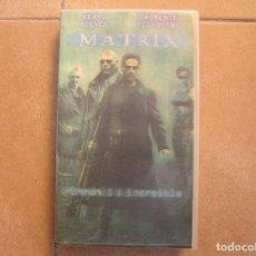 Cine: MATRIX - KEANU REEVES - LAURENCE FISHBURNE -- FORMATO VHS - WARNER BROS 2000 - P . Lote 127068503
