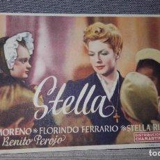 Cine: STELLA ZULLY MORENO PUBLICIDAD CINE VICTORIA CINE ZORRILLA. Lote 127172327