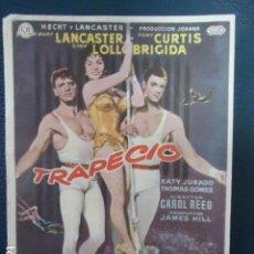 Cine: TRAPECIO - BURT LANCASTER, TONY CURTIS, GINA LOLLOBRIGIDA-CINE CERVANTES- LINARES - JAEN. Lote 127765683