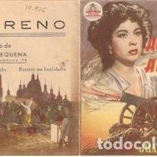 Cine: PROGRAMA CINE. AGUSTINA DE ARAGÓN. AURORA BAUTISTA, DIPTICO. REQUENA. REF. 19-926. Lote 127784667