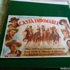 Cine: PROGRAMA DE CINE GRANDE. CASTA INDOMABLE. CINEMA ESPAÑA. MORA HERMANOS DE TORREVIEJA. Lote 127818671
