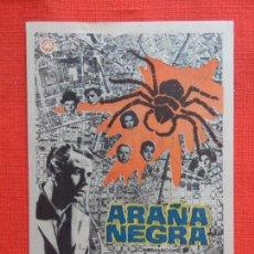 Cine: ARAÑA NEGRA, IMPECABLE SENCILLO, ANTONIO CASAS, CON PUBLI AVENIDA 1965. Lote 127865663