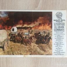 Cine: PROGRAMA DE MANO DOBLE. CINE. J. FORD. EL GRAN COMBATE.. Lote 127998814