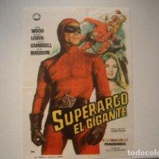 Cine: SUPERARGO EL GIGANTE. Lote 128066467