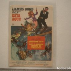 Cine: JAMES BOND 007 ESTÁ AQUÍ 1971. Lote 128066931