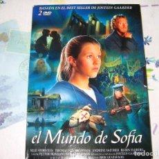 Cine: EL MUNDO DE SOFIA.2DVD.MUY BUEN ESTADO.. Lote 128248783