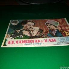 Cine: PROGRAMA DE CINE AÑOS 40. MIGUEL STROGOFF, EL CORREO DEL ZAR. Lote 128338903