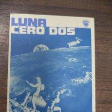 Cine: PROGRAMA DE CINE S/P. LUNA CERO DOS.. Lote 128415759