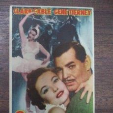 Foglietti di film di film antichi di cinema: PROGRAMA DE CINE S/P. NO ME ABANDONES.. Lote 128431999