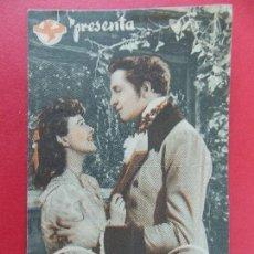 Cine: FOLLETO CINE - PROGRAMA - SIETE TORRES - CINE NURIA, VALLFOGONA DE BALGUER - AÑOS 40... R-9845. Lote 128432515