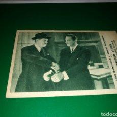 Cine: PROGRAMA DE CINE CARTÓN. ARSENIO LUPIN, LADRÓN DE GUANTE BLANCO. AÑO METRO 1932-33. Lote 128455559