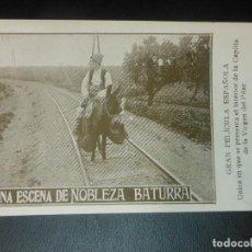 Cine: NOBLEZA BATURRA VIRGEN DEL PILAR ZARAGOZA PROGRAMA DE CINE . Lote 128467479