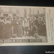Cine: NOBLEZA BATURRA VIRGEN DEL PILAR ZARAGOZA PROGRAMA DE CINE . Lote 128467567