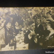 Cine: SANGRE Y ARENA TOROS POSTAL FOTOGRAFICA PROGRAMA DE CINE - ESCENA FLAMENCO. Lote 128467687