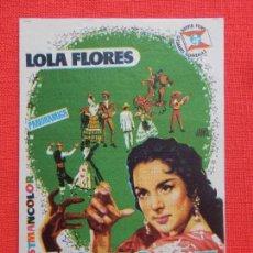 Cine: MARICRUZ, IMPECABLE SENCILLO, LOLA FLORES, CON PUBLI TEATRO PEREDA 1960. Lote 128468307