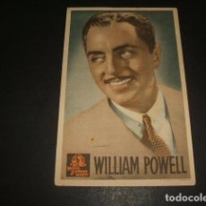 Cine: LA INDOMITA WILLIAM POWELL PROGRAMA DE MANO TEATRO MONUMENTAL . Lote 128471327