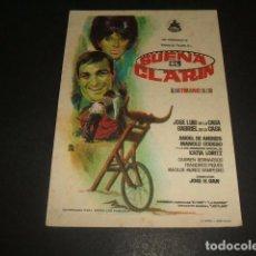 Cine: SUENA EL CLARIN PROGRAMA DE MANO . Lote 128473087