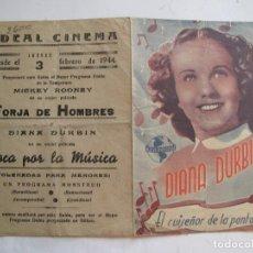 Cine: 224 PROGRAMA DE MAN ORIGINAL EL DE LA FOTO . Lote 128501987