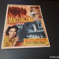 Cine: PROGRAMA DE MANO ORIG - MAGDALENA - CINE DE CADIZ. Lote 128669243