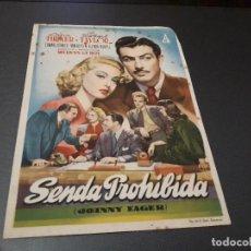 Cine: PROGRAMA DE MANO ORIG - SENFA PROHIBIDA - CINE APOLO. Lote 128711339