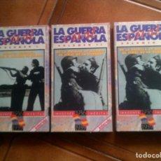Cine: LOTE DOCUMENTALES GUERRA CIVIL ESPAÑOLA EN VIDEO. Lote 128838187
