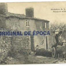 Cine: (PS-57478)POSTAL ALREDEDORES DE LA CORUÑA-PAISAJE DE ALTAMIRA.PROGRAMA DE CINE SALON DORE 1922. Lote 129092167