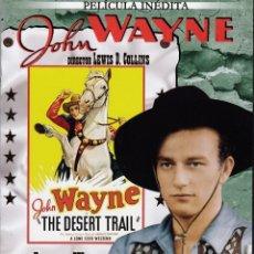 Cine: JOHN WAYNE - EL CAMINO DEL DESIERTO - (PELÍCULA INÉDITA). Lote 129104459