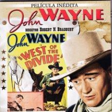Cine: JOHN WAYNE - AL OESTE DEL LÍMITE - (PELÍCULA INÉDITA). Lote 129104787