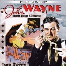 Cine: JOHN WAYNE - EL JINETE DEL AMANECER - (PELÍCULA INÉDITA). Lote 129105367
