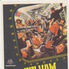 Flyers Publicitaires de films Anciens: PELHAM 1-2-3. SENCILLO DE CB FILMS. ¡IMPECABLE!. Lote 129222179