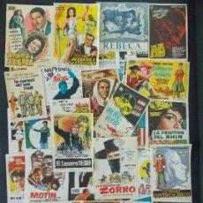 Cine: LOTE 51 FOLLETO ,FOLLETOS ,PROGRAMA CINE DIFERENTES - ORIGINALES (AÑOS 60-70) -VER 9 FOTOS.. A210. Lote 172954453