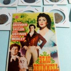 Cine: PROGRAMA DE CINE BEAU BRUMMELL. Lote 129443924