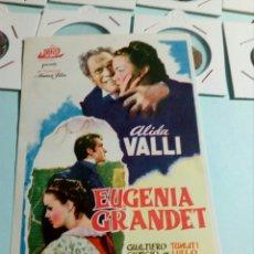 Cine: PROGRAMA DE CINE EUGENIA GRANDET. Lote 129445744