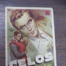 Cine: PROGRAMA DE CINE C/P. CELOS. CINEMA PALACIO.. Lote 129680739