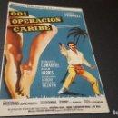 Cine: PROGRAMA DE MANO ORIG - 001 OPERACION CARIBE - SIN CINE . Lote 130072103
