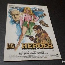 Cinema - PROGRAMA DE MANO ORIG - LOS HÉROES - SIN CINE - 130072203