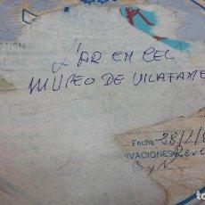 Cine: DOCUMENTAL ENLATADO DEL MUSEO CONTENPORANEO DE VILAFAMÉS CASTELLON EN SUPER 8 120 METROS. Lote 130502882