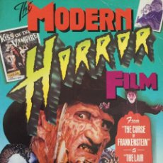 Cine: THE MODERN HORROR FILM. Lote 130518998