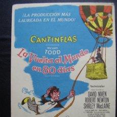 Cine: LA VUELTA AL MUNDO EN 80 DIAS, CANTINFLAS, DAVID NIVEN, WINDSOR PALACE. Lote 130651703