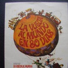 Cine: LA VUELTA AL MUNDO EN 80 DIAS, CANTINFLAS, DAVID NIVEN, CINE OESTE DE VALENCIA, 1968. Lote 130653158