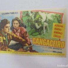 Cine: PROGRAMA DE CINE. S/P. CANGACIERO. Lote 130672959
