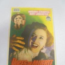 Foglietti di film di film antichi di cinema: PROGRAMA DE CINE. S/P. VOCES DE MUERTE. Lote 130675679